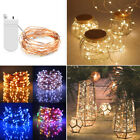 New 20/30/50/60 Led Waterproof Battery Fairy String Lights Xmas Home Party Decor