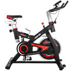 TREXM S501 Indoor Cycling Belt Drive Exercise Bike with 28lbs Flywheel Fitness