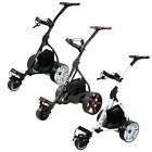 Ben Sayers Electric Golf Trolley Buggy Cart 36 Hole Lead Acid Battery Free Gifts