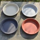 Round Strong Plastic Plant Pot Saucer Base Water Drip Tray Bonsai Saucer 15-30cm