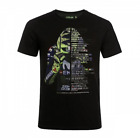 T-shirt Velocita VR46 official Valentino Rossi 46 collection Located in USA image