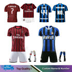 19/20 Football Soccer Full Kit Kids Youth Team Jersey Strips Sports Suit+Socks