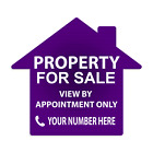 PERSONALISED House, Flat, Property, Car, FOR SALE, TO LET Sign Boards 4mm