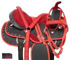 Premium Barrel Racing Racer Trail Used Western Saddle Horse Tack 16 in