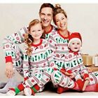 Christmas Family Matching Pajamas Adult Kids Nightwear Outfits Clothes US Stock