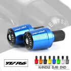 CNC Handle Bar Grips End Weights Caps Plugs for YAMAHA YZF R6 YZFR6 YZF-R6 R6S