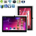 """7"""" Quad Core HD Tablet for Android 4.4 1024x600 Dual Camera 8GB WiFi Bluetooth T"""