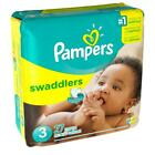 Baby Diaper Pampers® Swaddlers™ Tab Closure Size 3 Disposable Heavy Absorbency