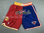 Houston Rockets New York Knicks finals just don Splice Basketball pants shorts on eBay