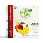 8x Organic Quinoa Infant & Baby Cereal by WutsupBaby - 4oz (8 Packx0.5oz)