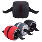 AB Roller Abdominal Exercisers Wheel W/ Knee Pad Workout Body Gym Fitness image