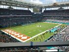 MIAMI DOLPHINS VS SAN DIEGO CHARGERS TICKETS 4  AMAZING SEATS + PARKING PASS!!!! $100.0 USD on eBay