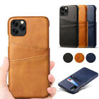 Card Slot Holder Leather Case Cover For Iphone 12 11 Pro Xs Max X Xr 6s 7 8 Plus