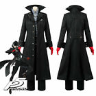 Persona 5 Joker Protagonist Full Set Cosplay Costume Outfit Coat Suit