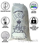 8 lb / 10 lb / 20 lb Ice Bags with Drawstring
