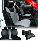 Gray Luxurious PU Leather Full 5 Seats Cushion Front Rear to Dodge 80209 $89.95 USD on eBay