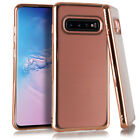 Samsung Galaxy S10 Crystal Brushed Chrome Case Protective Cover