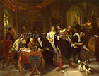 JAN STEEN THE MARRIAGE ARTIST PAINTING REPRODUCTION HANDMADE CANVAS REPRO WALL