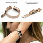 Replacement Magnetic Loop Strap Stainless Steel Wrist Band For Fitbit Charge 3 image
