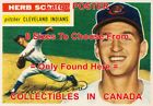 """HERB SCORE 1956 Cleveland Indians = POSTER Not Baseball Card 8 SIZES 18"""" - 3 FT on Ebay"""