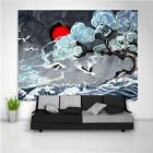 Japanese Painting Wall Hanging Tapestry Psychedelic Bedroom Home Decoration