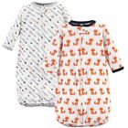 Hudson Baby Boy Long Sleeve Sleeping Bag 2-Pack, Foxes