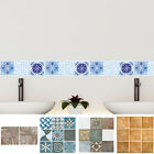 Oil Resistant Mosaic Tile Wall Stickers Home Bathroom Kitchen Decor DIY Decal