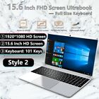 15.6 Inch 14.1 Inch Fhd Intel E8000 4g 64g 256g Ssd Laptop Computer Windows 10