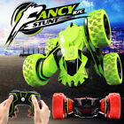 2.4G RC Car Remote Control Stunt Car 4WD Rock Crawler Double Sided Rotating Toy