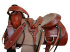 15 16 17 COWGIRL BLING PLEASURE HORSE ROPING ROPER LEATHER WESTERN RANCH SADDLE