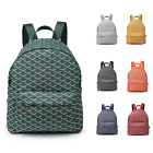 Womens Large 3D Print Faux Leather Fashion School Travel Backpack Shoulder Bag
