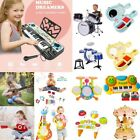 Children's Early Education Musical Instrument Guitar Drum Toy Keyboard Kid Toy