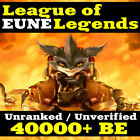 🔷 EUNE🔷 League of Legends LOL Account EUNE 40000 - 70000 BE Unranked Level 30  <br/> 🔥 Ranked READY 💎 24/7 Delivery 💎 Warranty 🔥 BUY IT!