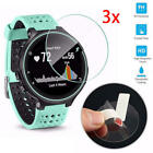 3Pcs Ultra-Thin 9H 2.5D Tempered Glass Screen Protective Film For Garmin Watch