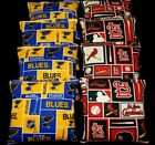 St. Louis Cardinals & ST Louis  Blues 8 ACA Regulation cornhole beanbags $37.99 USD on eBay