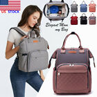 LEQUEEN Mummy Maternity Nappy Diaper Bag  Baby Travel Backpack Tote Handbag XMAS