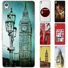 Dessana London Union Jack Silicone Protective Case Case Pouch Cover for Sony