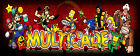 Multicade Arcade Classics Marquee For Reproduction Header/Backlit Sign