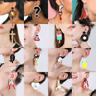 Women Geometric Acrylic Resin Earring Drop Dangle Stud Hook Earrings Jewelry  image