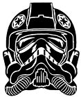 Star Wars TIE Fighter Pilot Vinyl Decal Sticker Car Van Laptop Tablet Wall $10.64 AUD on eBay