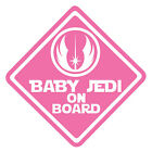 Star Wars Baby Jedi On Board Vinyl Decal Sticker Car Van Laptop Tablet Wall $5.21 AUD on eBay