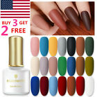 BORN PRETTY 6ml Nail Art Gel Polish Soak-off UV LED Varnish Matte Top Base Coat