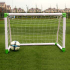 2.45M/1.2M Professional PVC Tube Plastic Soccer Door for school collective NEW
