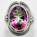 Natural Magic Topaz 925 Sterling Silver Handmade Ring Jewelry s.7 SDR38961