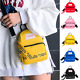 Fashion Girl Multi-Use Candy Solid Small Square Bag Messenger Bag Shoulder Bags photo