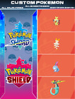 ALL 400 Custom Pokemon Shiny Bundle 6IV Pokemon Sword & Pokemon Shield (A - L)