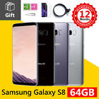 Samsung Galaxy S8 64gb Unlocked Sim Free Android Mobile Smart Phone All Colours