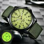 SOKI Men's Military Watch Nylon Strap Outdoor Watches Canvas Date Wrist Watches image