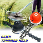 65Mn Garden Lawn Grass Trimmer Head for Chain Mower Replacement Part Accessory