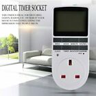 New Digital Electronic Power Timer in Smart Switch Socket Digital LCD ND photo